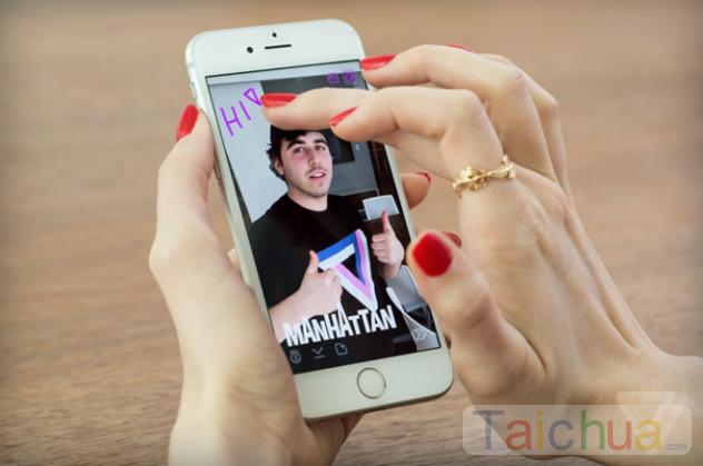 Snapchat của Apple hứa hẹn nhiều bất ngờ thú vị đến với người dùng.