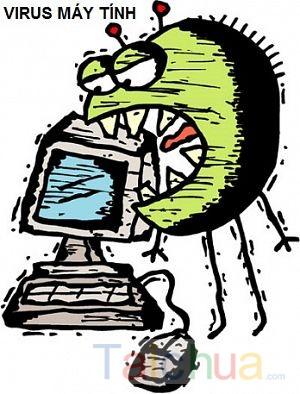 Dấu hiệu nhận viết máy tính bị nhiễm virus