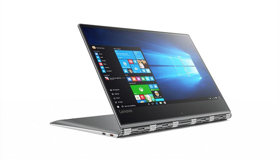 Hé lộ cấu hình khủng của laptop Yoga 910 , với tùy chọn màn hình 4k