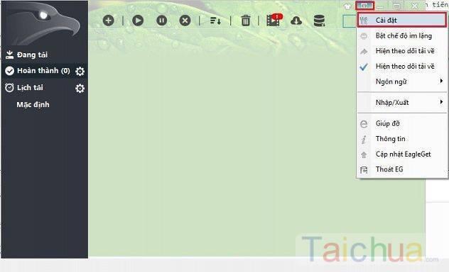Hướng dẫn sửa lỗi tự động bắt link Download bằng EagleGet