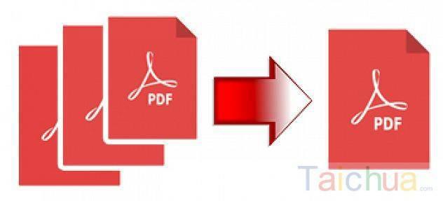 Hướng dẫn nối 2 hay nhiều file PDF thành 1 trực tuyến và bằng phần mềm