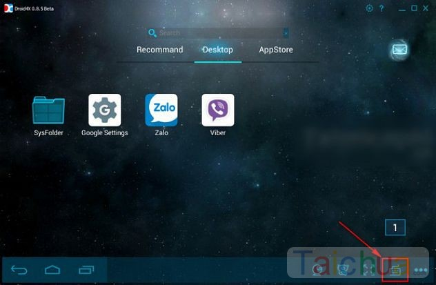 Hướng dẫn cài phím tắt cho ứng dụng Android trong Droid4X