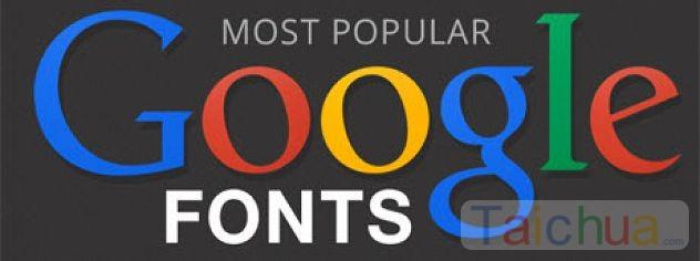 Hướng dẫn cách cài font chữ từ Google vào máy tính