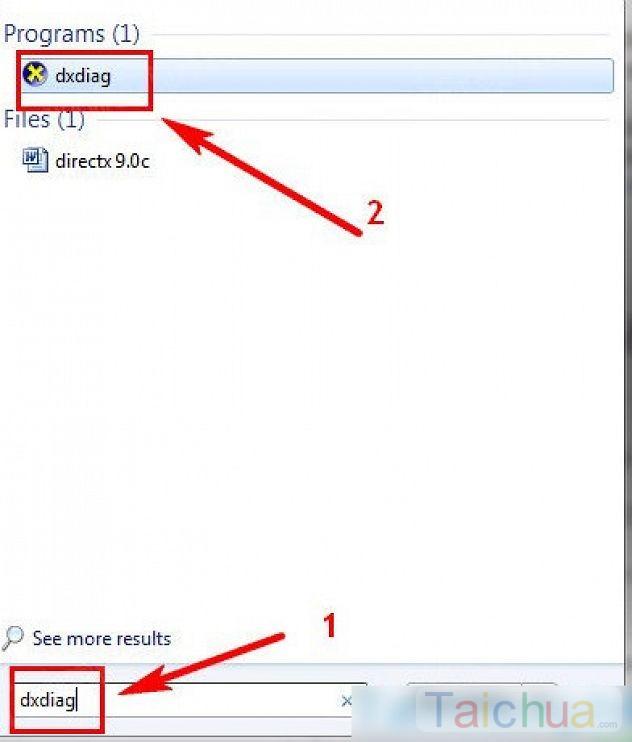 Hướng dẫn kiểm tra phiên bản DirectX được cài trong Windows