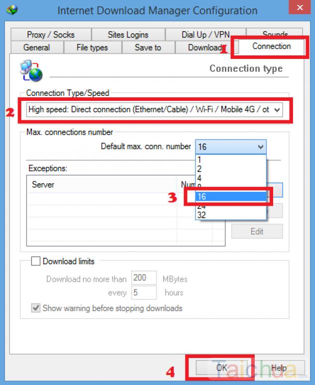 Hướng dẫn tăng tốc phần mềm IDM đạt tốc độ max