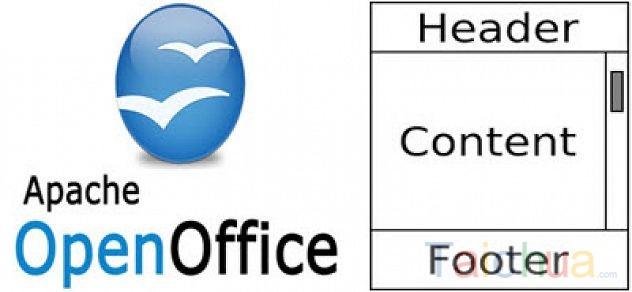 Hướng dẫn tạo Header và Footer trong OpenOffice