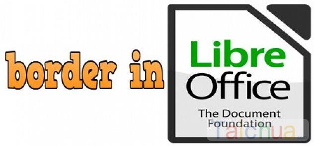 Hướng dẫn cách tạo khung trong LibreOffice