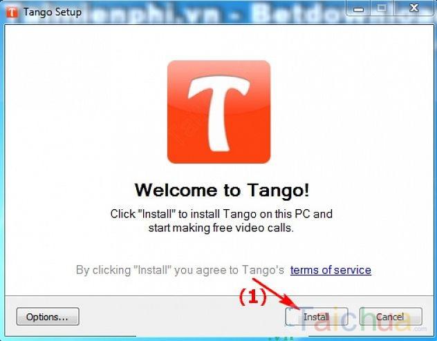 Hướng dẫn cài đặt và đăng ký sử dụng Tango trên máy tính