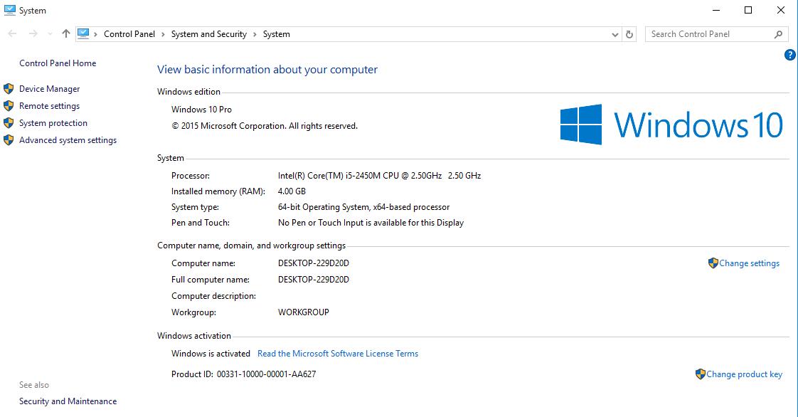 Cách kiểm tra cấu hình máy tính trên Windows 10