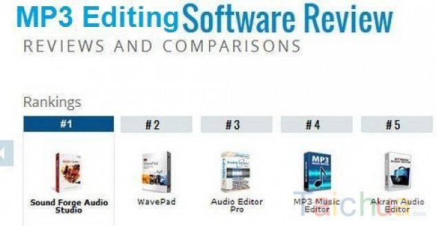 TOP phần mềm chỉnh sửa âm thanh tốt nhất 2017