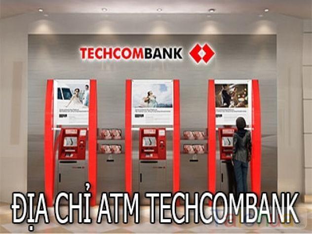 Địa điểm đặt cây ATM của ngân hàng TMCP Kỹ Thương VN