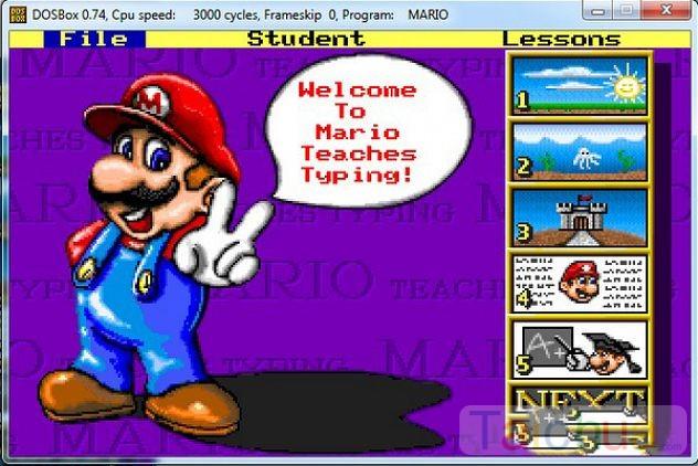 Hướng dẫn cài đặt Mario trên Win 7