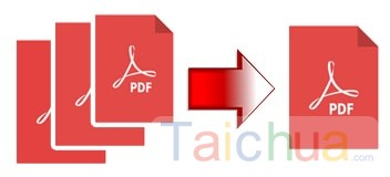 Cách ghép file PDF không cần phần mềm