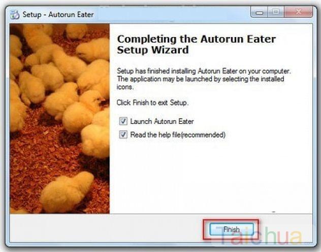 Hướng dẫn cài AutoRun Eater ngăn chặn virus từ USB