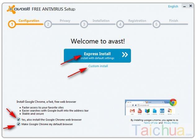 Hướng dẫn cài đặt Avast Free Antivirus trên máy tính