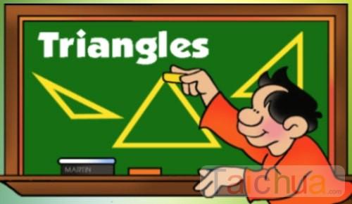 Tính diện tích tam giác các loại