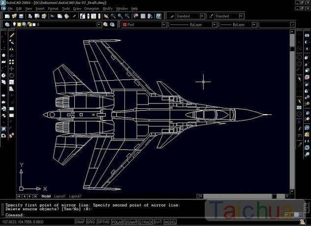 Cách lệnh cơ bản trong AutoCAD