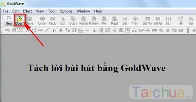 Hướng dẫn tách lời bài hát bằng phần mềm GoldWave