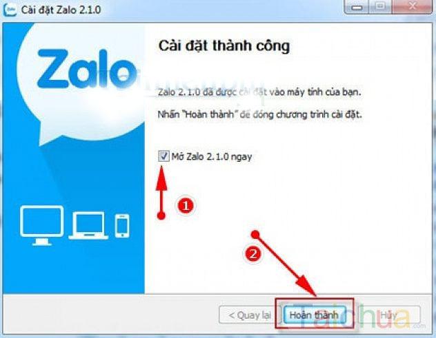 Hướng dẫn cách cài đặt Zalo cho máy tính