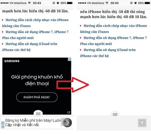 Cách chặn quảng cáo trên iPhone - Adblock plus