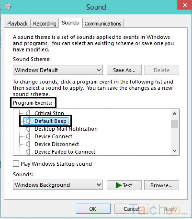 Hướng dẫn tắt âm thanh beep ở trên Windows 10