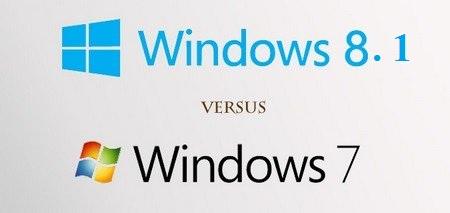 So sánh Win 7 và Win 8.1 để tìm điểm khác biệt