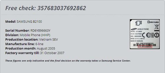 Cách check imei Samsung nhanh và chính xác nhất
