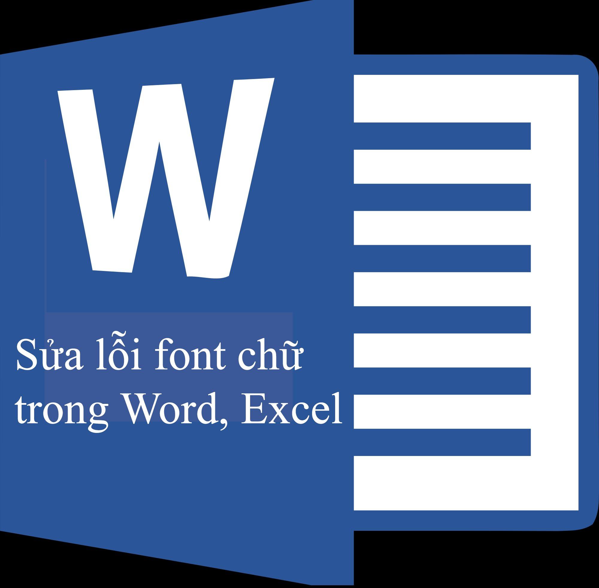 Cách sửa lỗi phông chữ trong word 2007, 2010, 2013, 2016