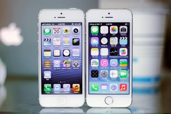 Cách phân biệt iPhone 5 và 5s đơn giản nhất