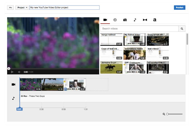 Hướng dẫn chỉnh sửa video trên Youtube rất đơn giản