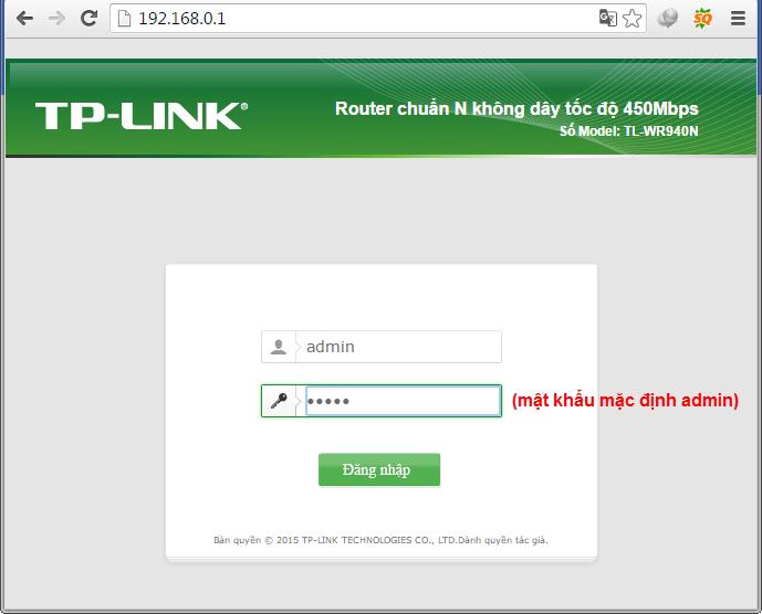 Hướng dẫn cách đổi mật khẩu wifi Tp Link