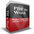 Free PDF to Word Doc Converter icon