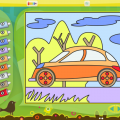 Color by Numbers Vehicles icon