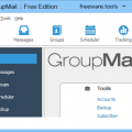 GroupMail Free Edition - Thiết kế  gửi email nhóm