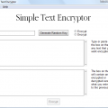 Simple Text Encryptor