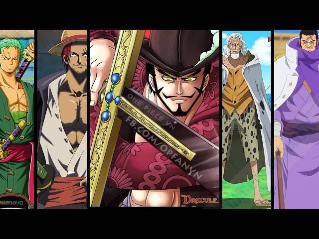 10 Kiếm Sĩ Mạnh Nhất One Piece