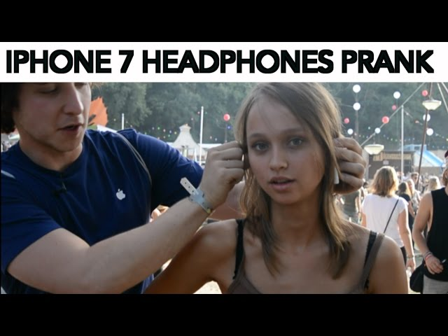 IPHONE 7 HEADPHONES PRANK!