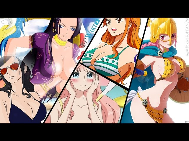 """TOP 10 """"Nữ Hoàng Sexy"""" Xinh đẹp và Gợi cảm nhất One Piece"""