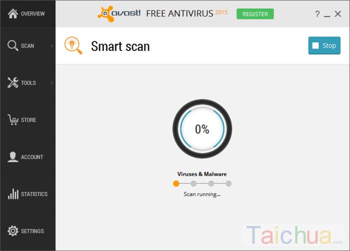 Tính năng chính của phần mềm Avast Free Antivirus