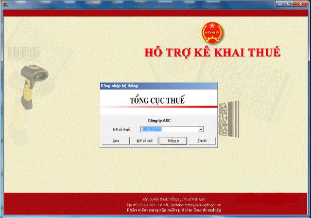 Tính năng phần mềm khai báo thuế HTKK