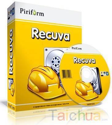 Hướng dẫn khôi phục dữ liệu với Recuva