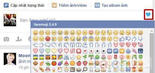 Cách sử dụng icon facebook hiệu quả cho status và quảng cáo trên facebook