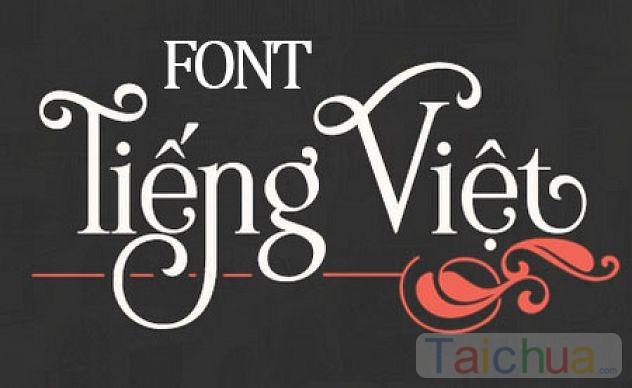 Hướng dẫn cài font Việt hóa trên máy tính
