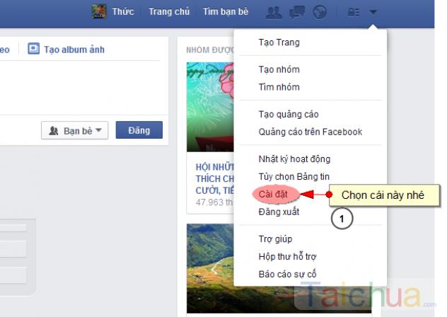 Hướng dẫn cách khoá tài khoản Facebook tạm thời