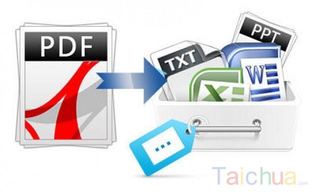 Chuyển PDF sang Word trực tuyến Doc online, Full trang, không lỗi font chữ