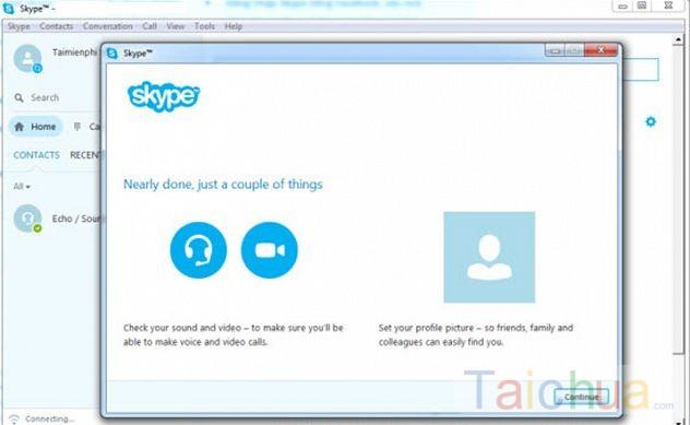 Tạo tài khoản Skype đơn giản nhanh chóng