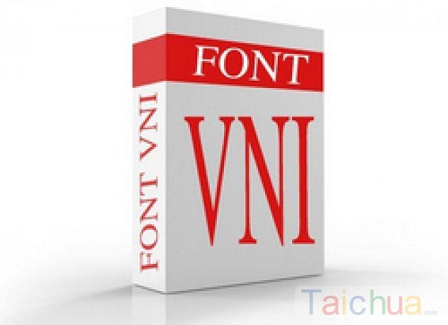 Cách cài font VNI trên máy tính đơn giản