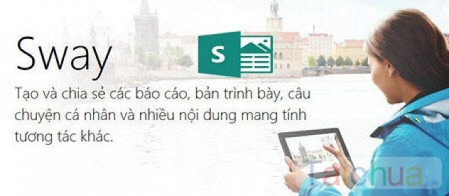 Hướng dẫn dùng Microsoft Sway tạo slide thuyết trình
