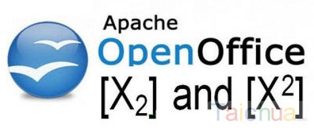 Hướng dẫn chèn số mũ trong OpenOffice