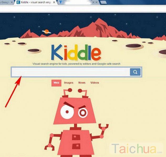 Hướng dẫn tìm kiếm thông tin an toàn cho trẻ em